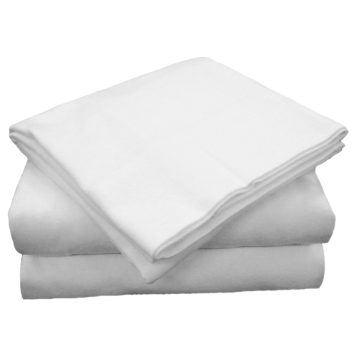 220 Thread Count Easy Care Selection Cotton Polyester Blend Dual Queen Sheets Set