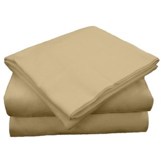 Flannel 100% Cotton Dual King Sheets - Set