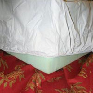 Vinyl Mattress Cover - Split-Top Queen