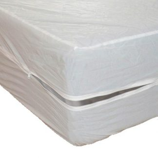 Vinyl Mattress Encasement - Split-Top Queen